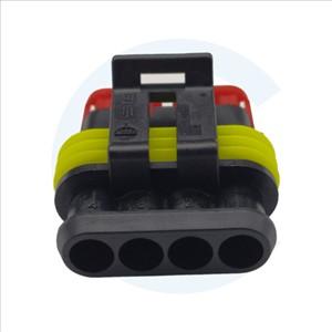 Conector TE CONNECTIVITY: conducto-conducto. Superseal 1.5. enchufe hembra IP67 - 003011037 - Cenel Europe Slu - Electronic Components - Tienda Online