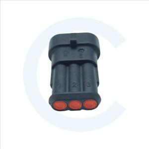 Conector Cenel Superseal 1.5 macho 3 pines con protección. Cenel Europe Slu - Electronic components - Recambios y repuestos electrónicos