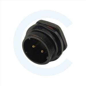 003011257 Conector circular macho 2 pines - WEIPU - SP2111_P12 II 1N - CENEL Europe - electronic components - tienda online