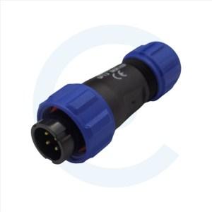 003011612 Conector Circular SP13 4 pines Macho SP13 - WEIPU SP1310 _ S4IN - Cenel Europe Slu. - Tienda online de repuestos y material electrónico