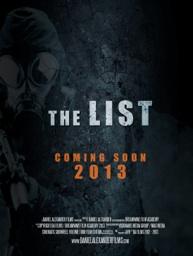 list poster