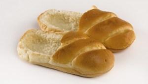 Zapatos comestibles hechos de pan Praspaliauskas 5