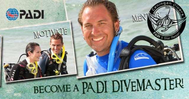 Dive Careers PADI Divemaster
