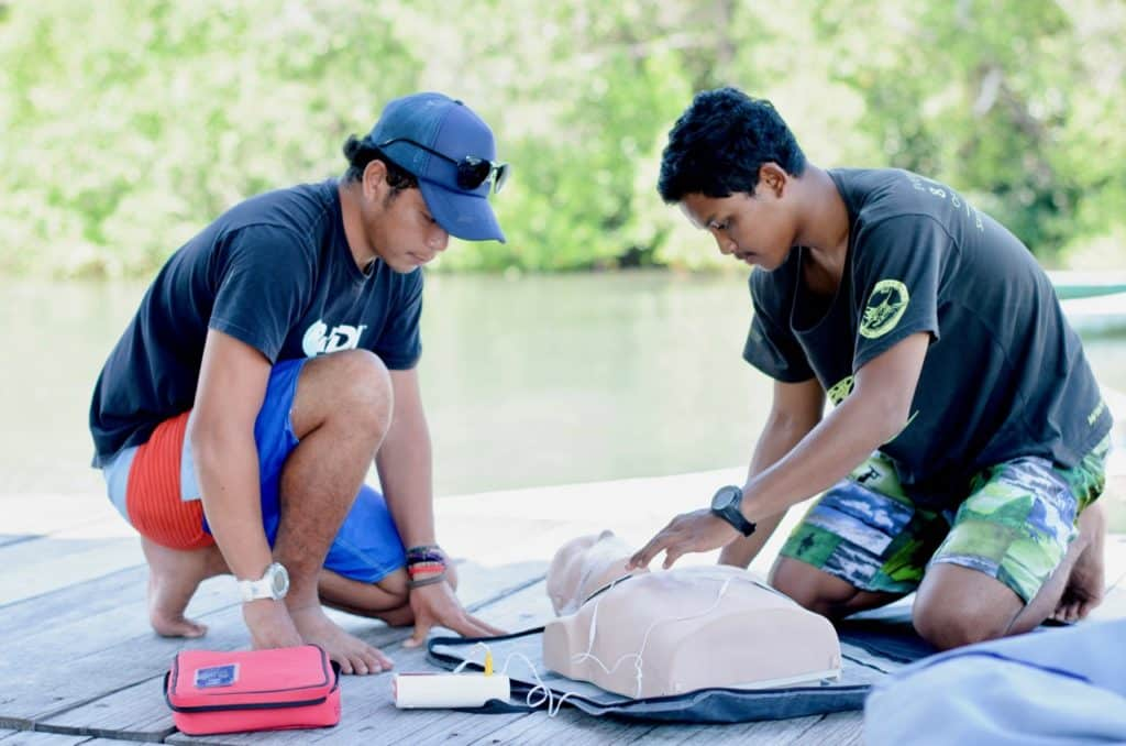 Ceningan Divers PADI Internship Rescue Diver Course