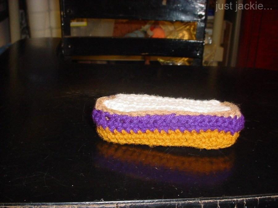 Half PBJ Sandwich