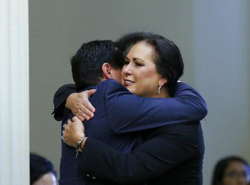 Anthony Rendon, Lorena Gonzalez