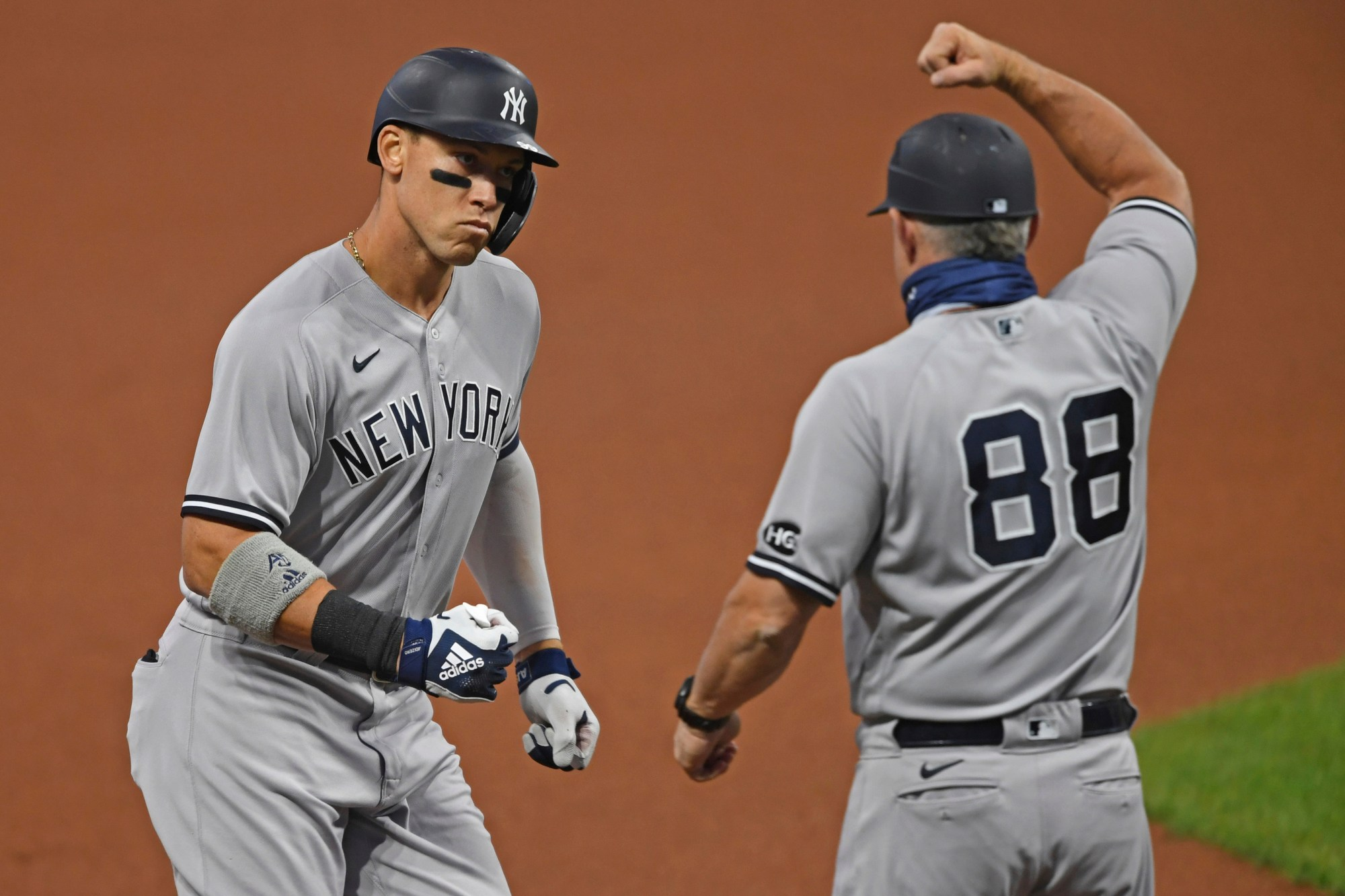 Aaron Judge, Phil Nevin