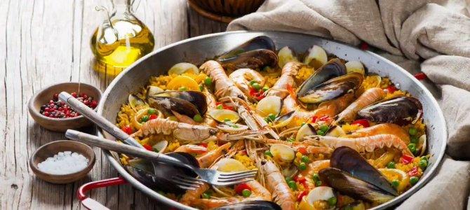 Paelja – špansko tradicionalno jelo