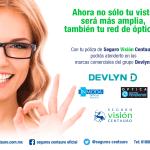 Visita las ópticas de Grupo Devlyn