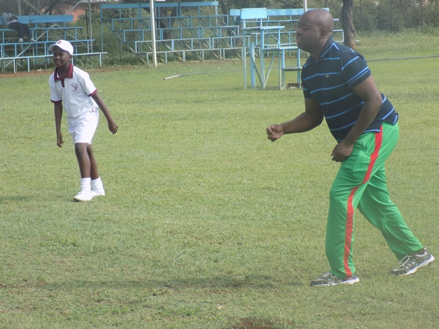 Physical Education lessons with Mr. Dube