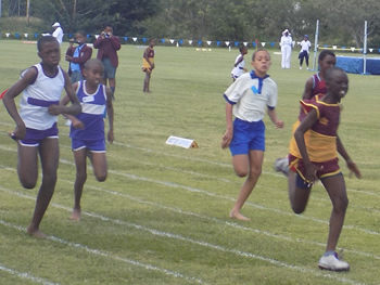 inter bulawayo schools athletics hosted by centenary primary school