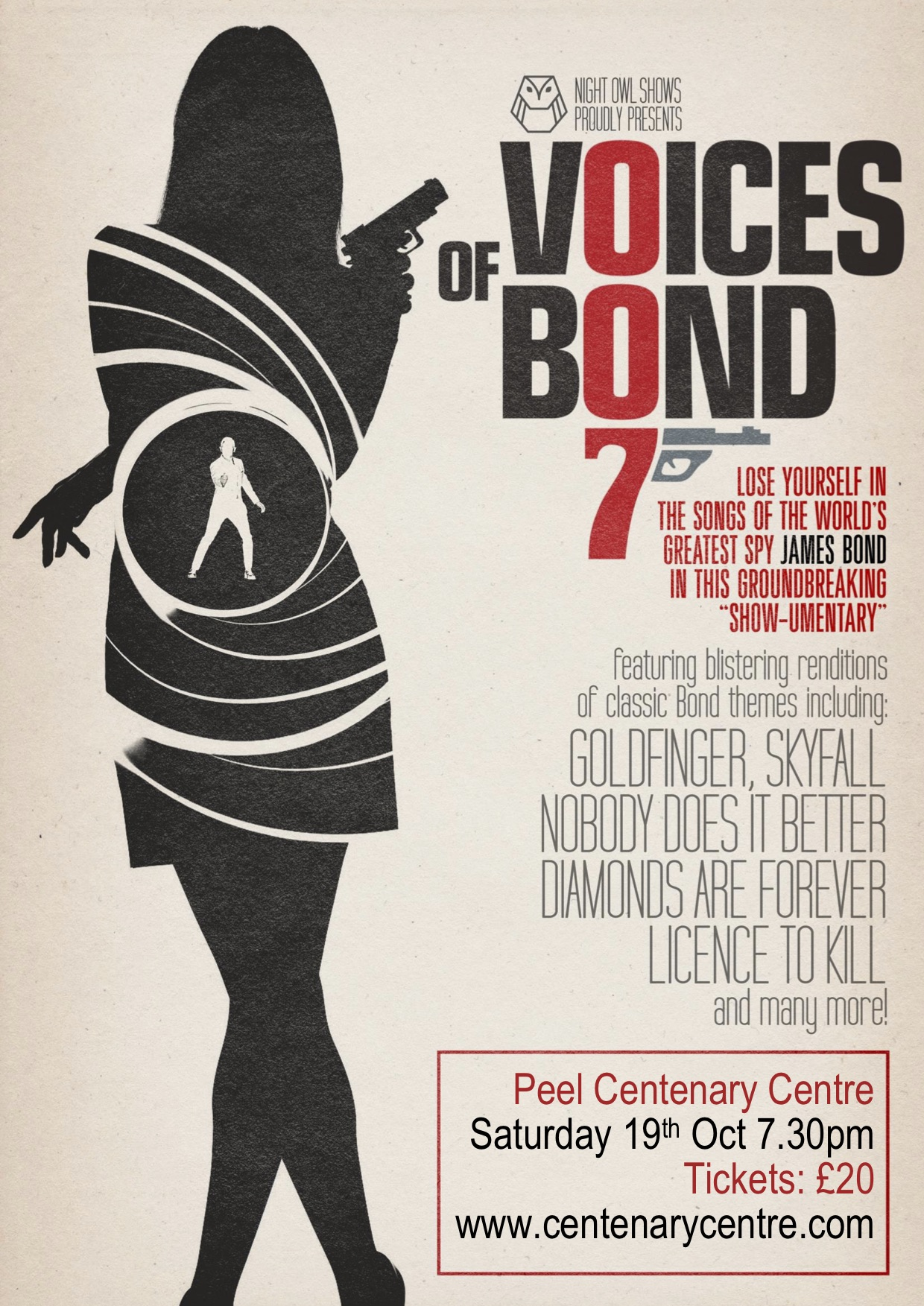 Voices of Bond – Peel Centenary Centre