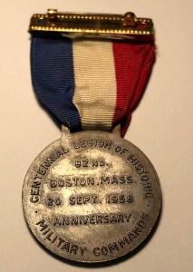 1958 Medal Back