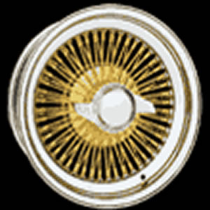 Luxor Griffin Triple Gold replacement center cap - Wheel/Rim centercaps for Luxor Griffin Triple Gold