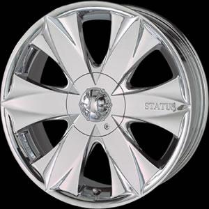 Status C.E.O. replacement center cap - Wheel/Rim centercaps for Status C.E.O.
