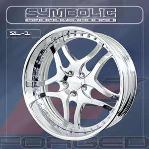 Symbolic SL1 replacement center cap - Wheel/Rim centercaps for Symbolic SL1