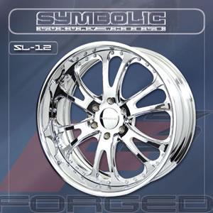Symbolic SL12 replacement center cap - Wheel/Rim centercaps for Symbolic SL12