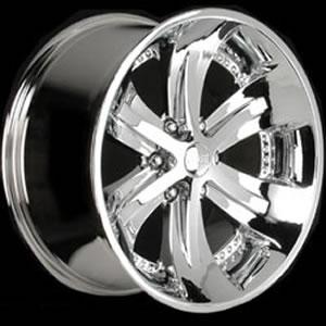 Foose Spank 6 replacement center cap - Wheel/Rim centercaps for Foose Spank 6