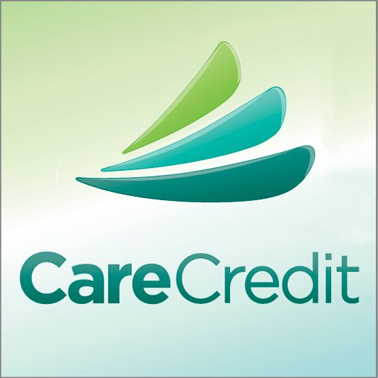 Now Accepting CareCredit Healthcare Credit Card Center