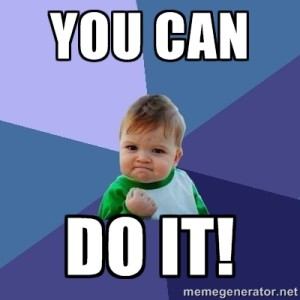 Image result for you can do it