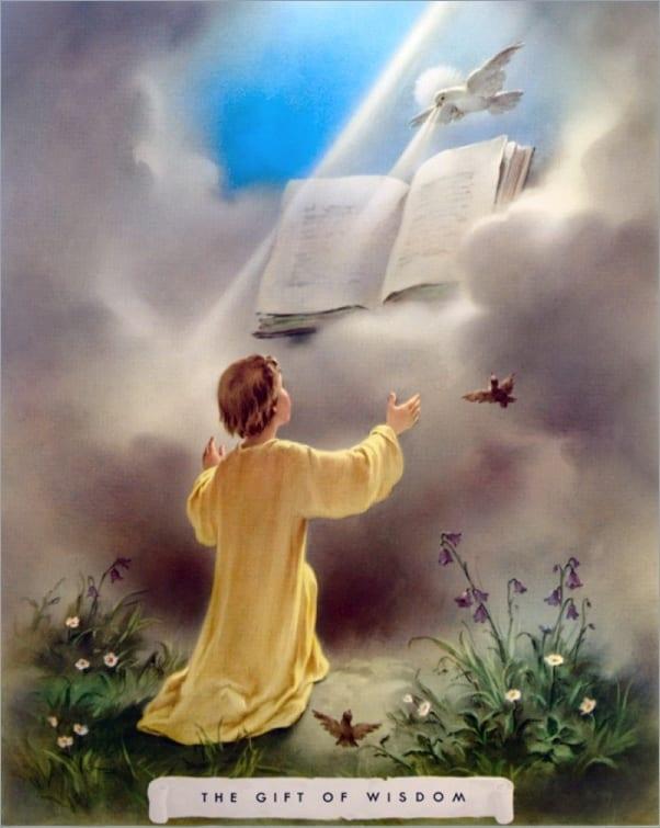 Diepere verbinding van het Christuslicht.