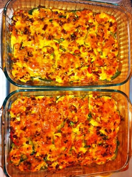 Complete  jalapeño popper casserole
