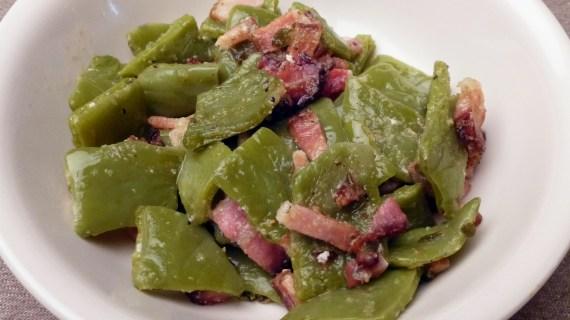 Nopalitos and Bacon