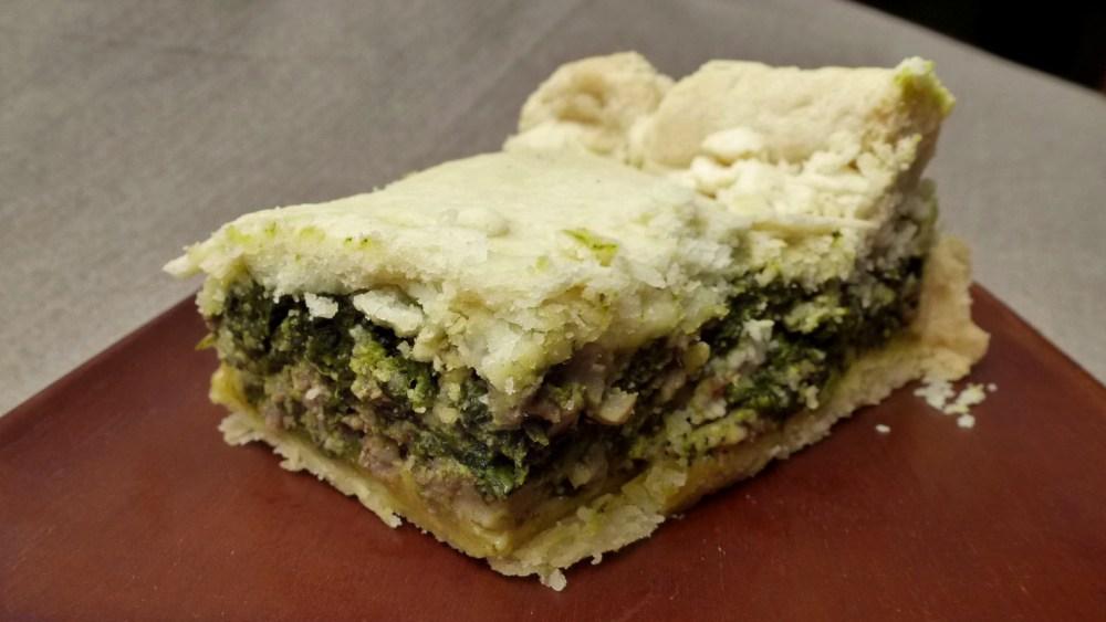 Spring Greens Pie