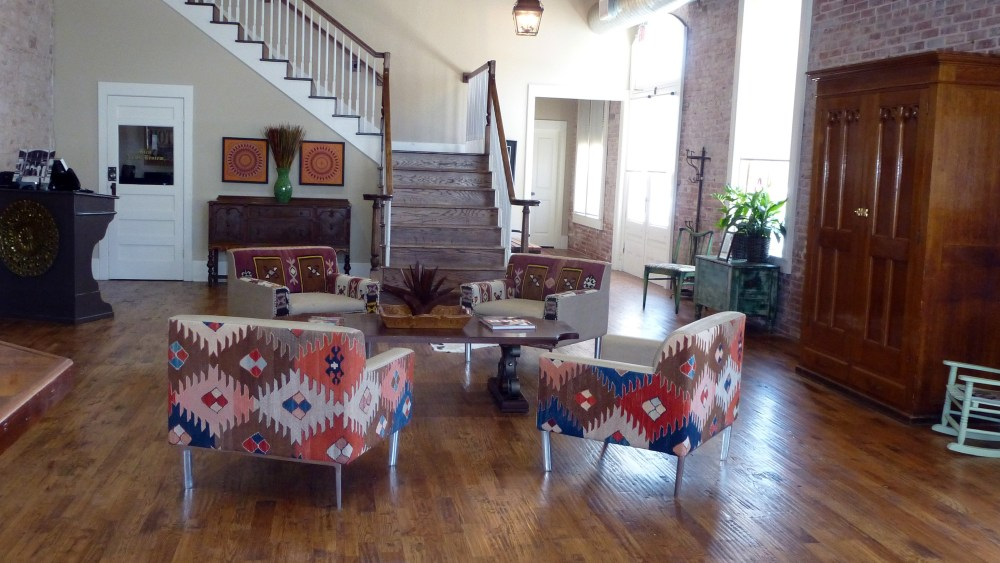 Midland Hotel Hico Texas Lobby