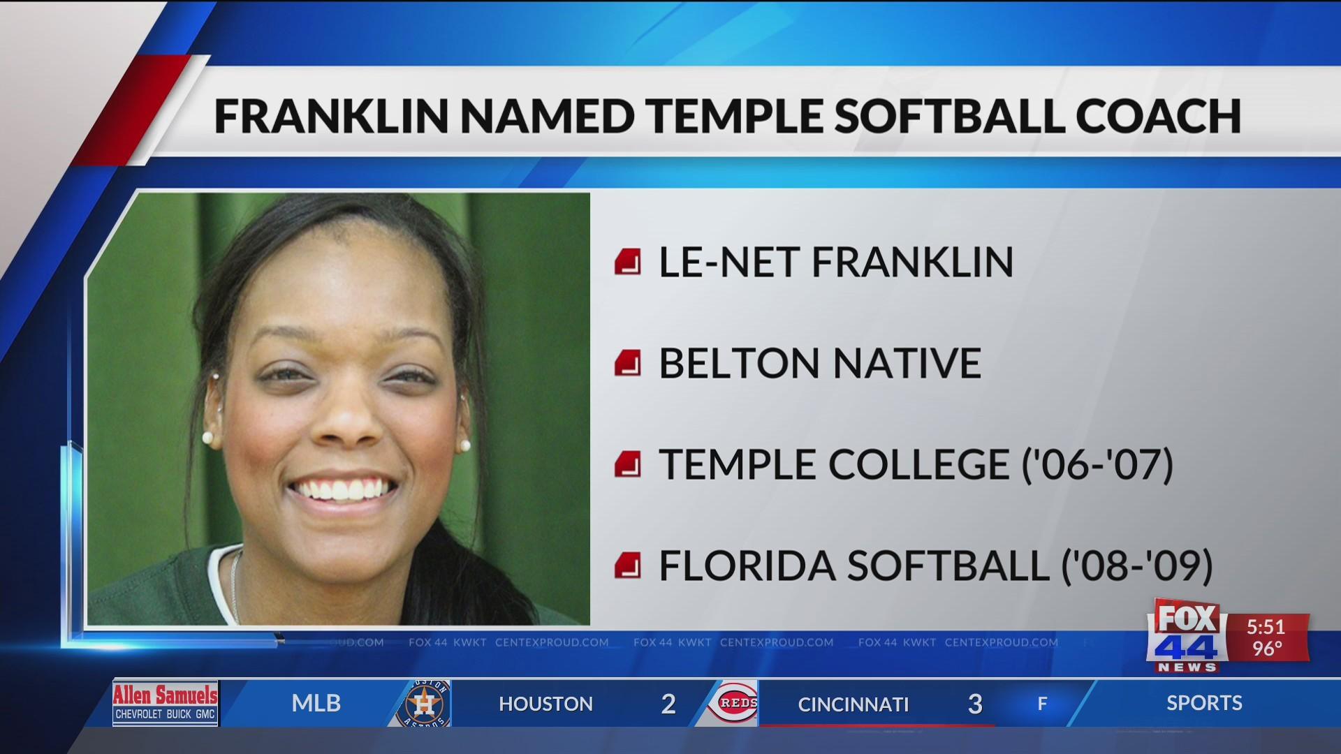 Temple High School Names New Softball Coach