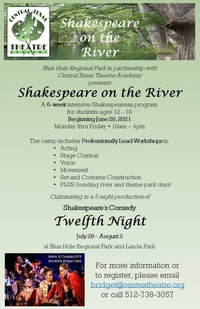 Shakespeare on the River Flyer