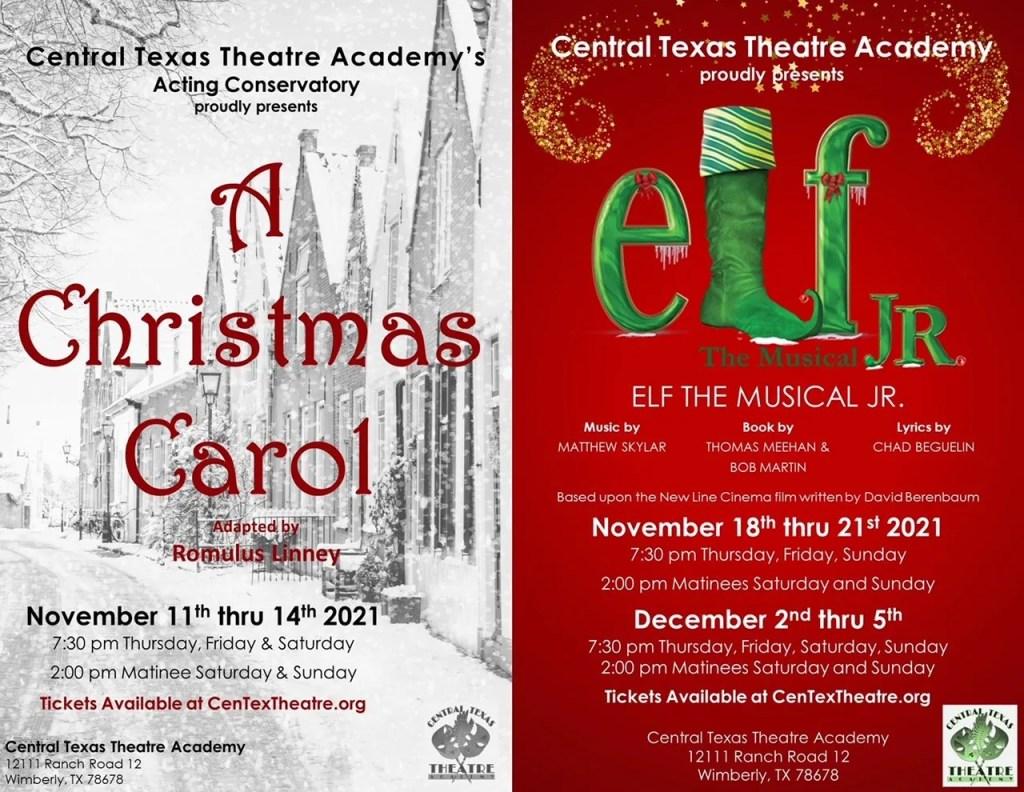 A Christmas Carol & Elf Jr combo