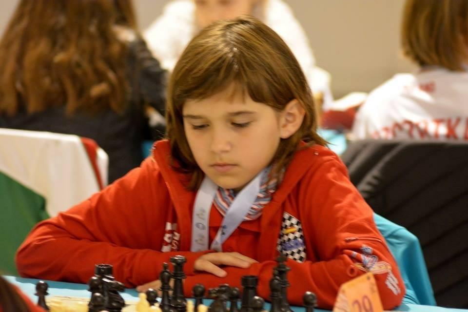 Cristina Sureda, Primera Classificada Espanyola Al Campionat Mundial D'escacs De La Seva Categoria