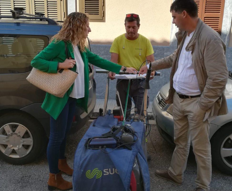 La SAM Continua Fent Feina Per Reduir Les Fuites A La Xarxa D'aigua I Enguany Es Preveu Assolir El 70% D'eficiència