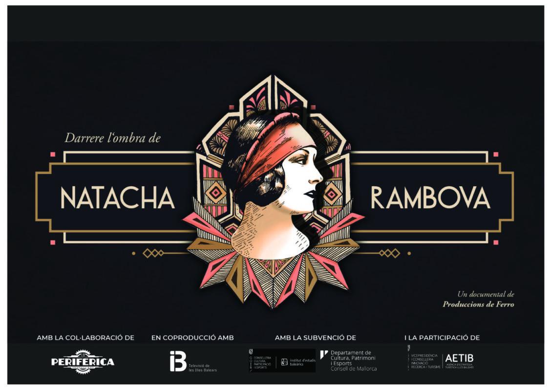 """""""Darrere L'ombra De Natacha Rambova"""" De Produccions De Ferro S'estrena A L'Atlàntida Film Fest"""