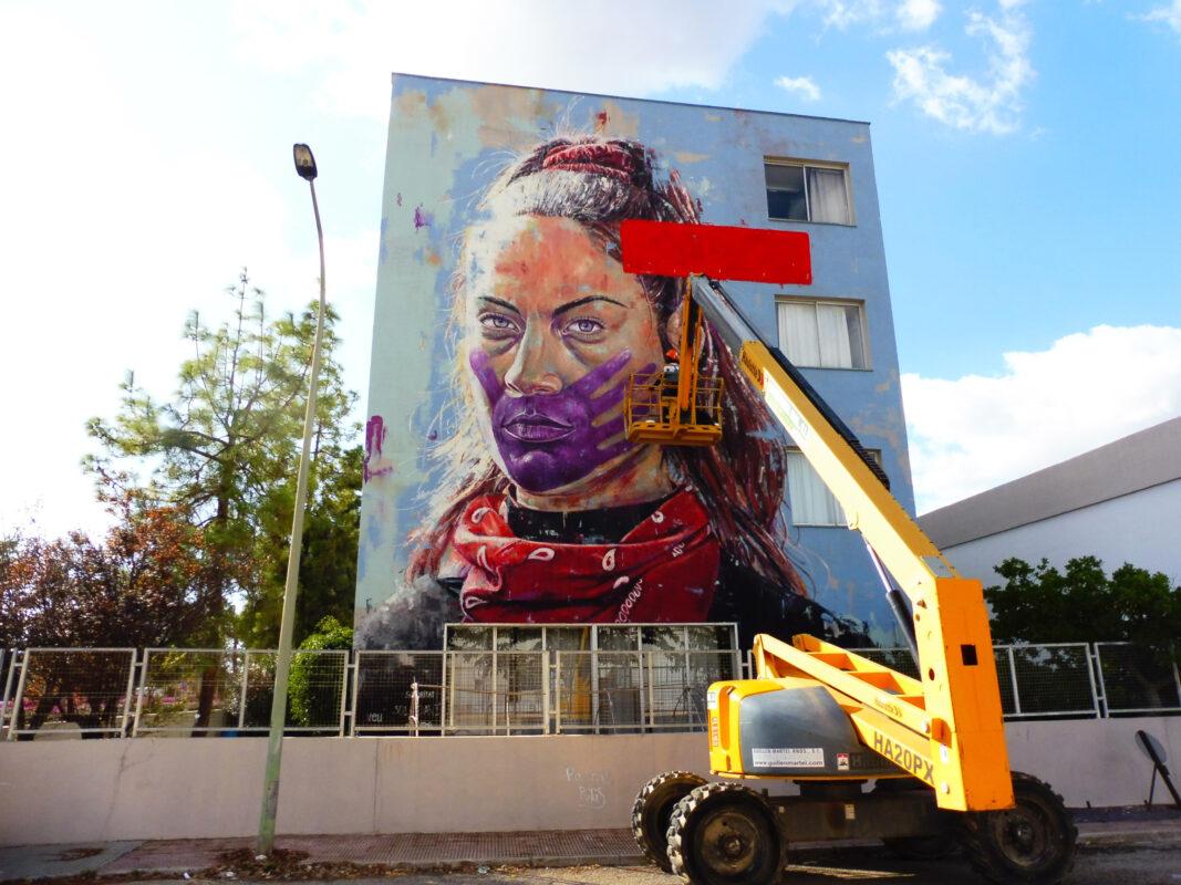 """L'Ajuntament Posa En Marxa La Iniciativa """"murals Per La Igualtat"""", Per Donar El Sus Als Actes Del 25 De Novembre"""