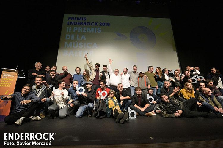 Els Manacorins Andreu Riera I Jorra I Gomorra, Entre Els Guardonats Dels Premis Enderrock 2019