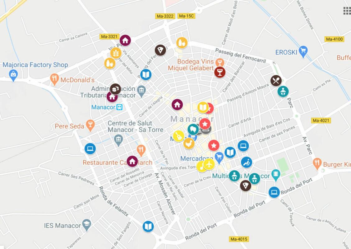 40 Comerços Manacorins Al Mapa Del Comerç Electrònic