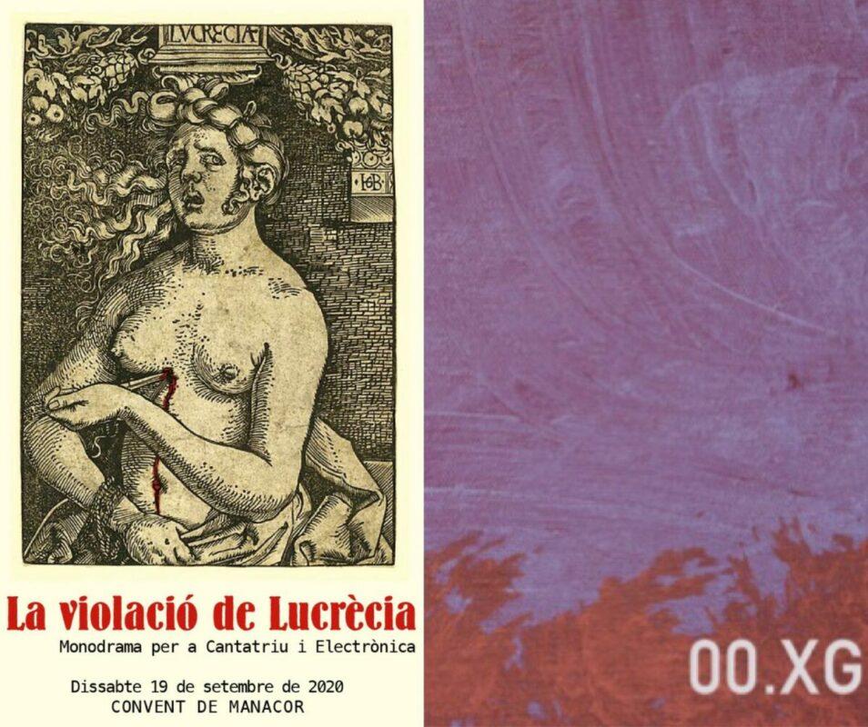 """""""La Violació De Lucrècia"""" I Un Nou Disc D'autor Manacorí: 00.XG"""
