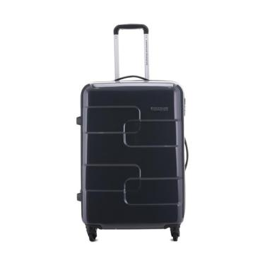 AMERICAN TOURISTER กระเป๋าเดินทางชนิดแข็ง 4 ล้อ รุ่น PUZZLE CUBE ขนาด 25 นิ้ว สี Charcoal