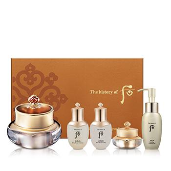 THE HISTORY OF WHOO ชุดผลิตภัณฑ์ดูแลผิวรอบดวงตา Cheongidan Hwa Hyun Eye Cream Special Set