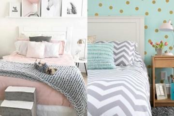 ห้องนอนสีพาสเทล