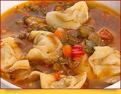 Чучвара. Пельмени по-узбекски. Блюда узбекской кухни.