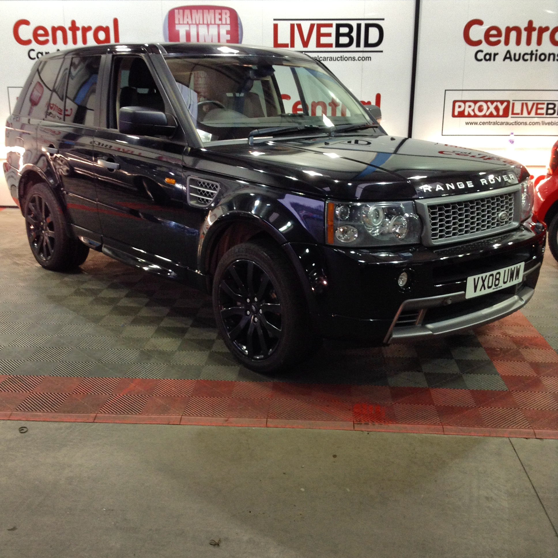 2008 08 plate Range Rover Sport Supercharged • Central Car Auctions