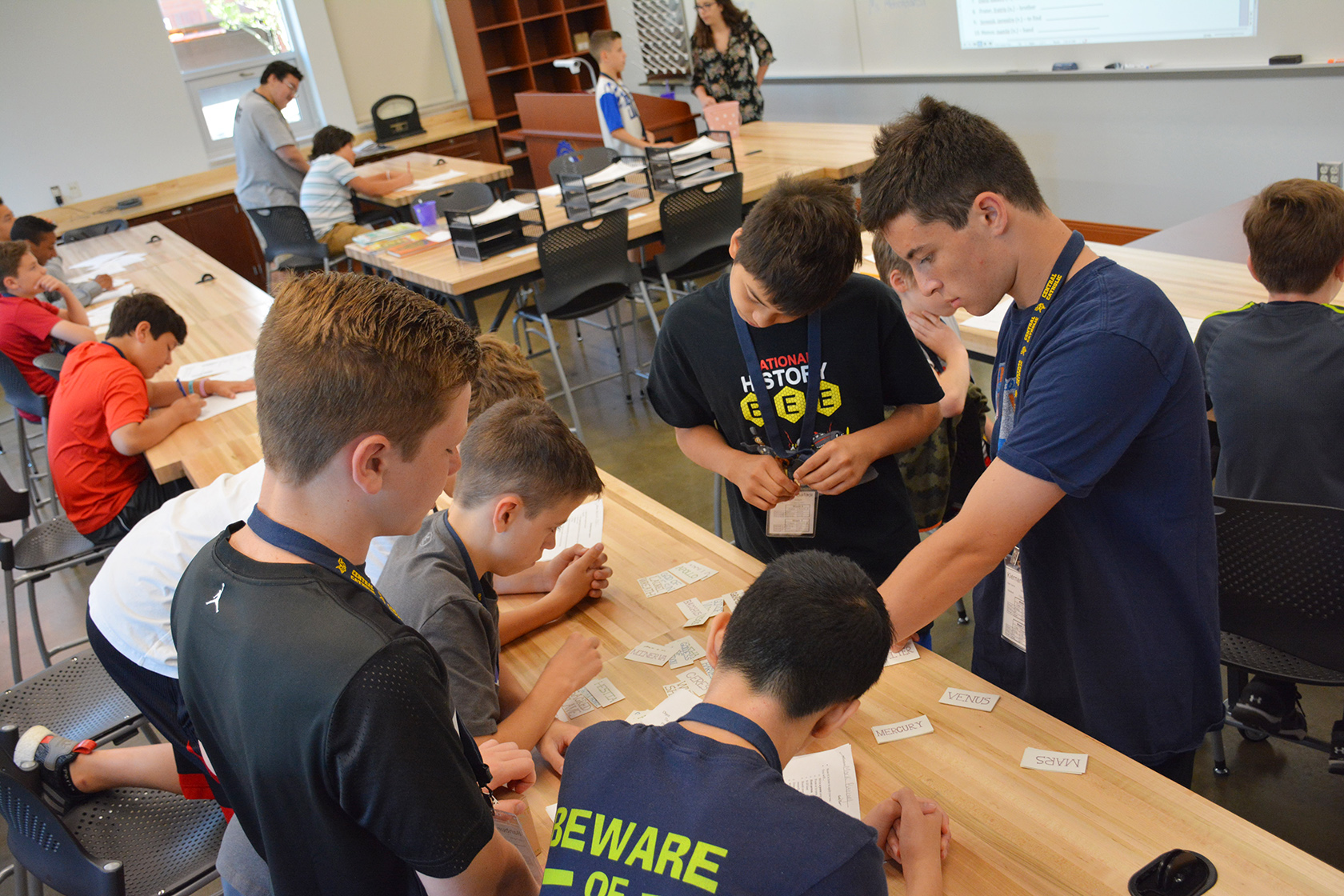 Middle Schoolers Explore Stem Fields During Bam Academic