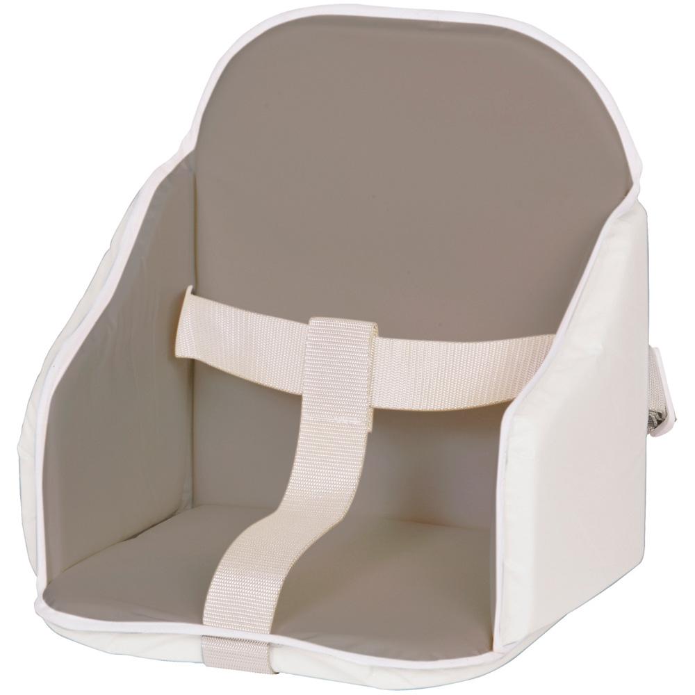 coussin de chaise pvc gris blanc de candide sur allobebe