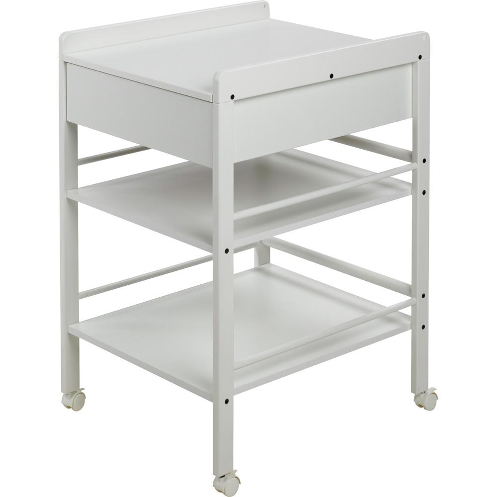table a langer avec tiroir avant blanche lotta