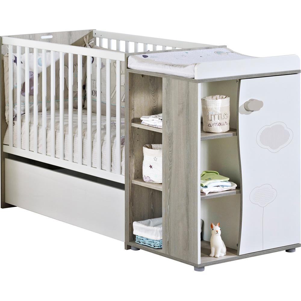 Lit Chambre Transformable 60x120 En Lit Junior 90x190 Nael
