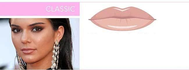 lèvres-style-classique