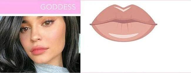 lèvres-style-deesse